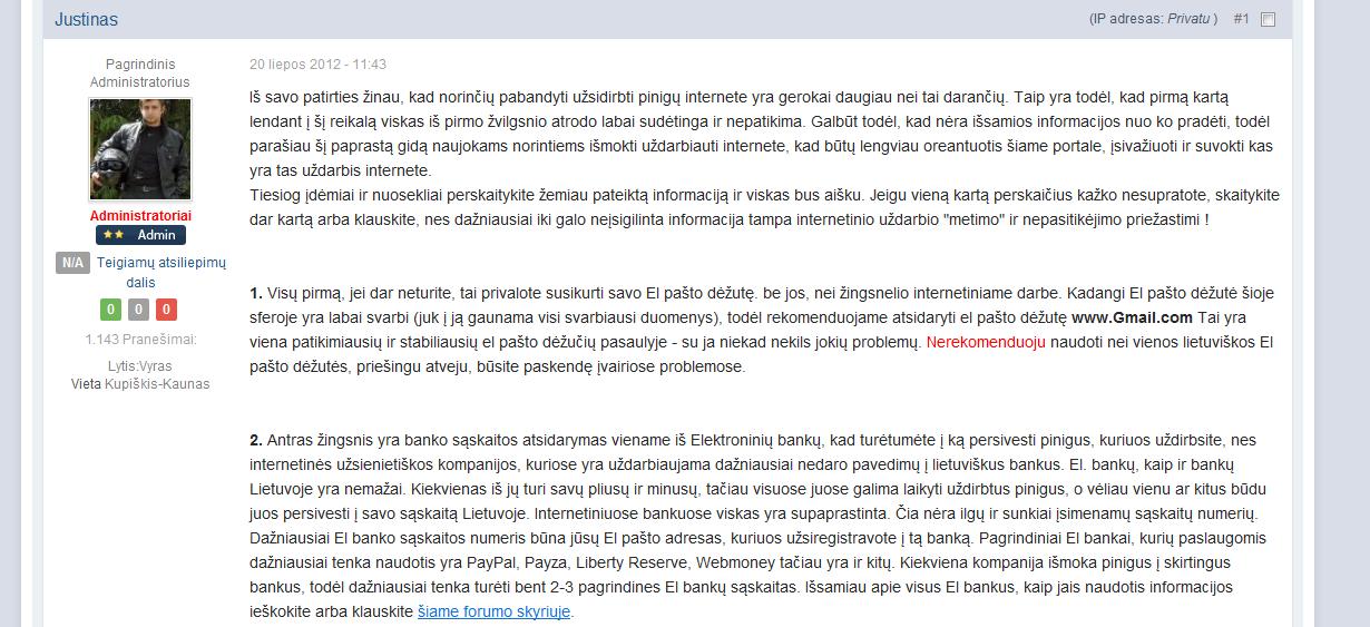 Atsiliepimai ir skundai apie Baltic Logistic Solutions, UAB. Komentarai. formulemini.lt